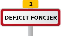 reduction impot deficit foncier